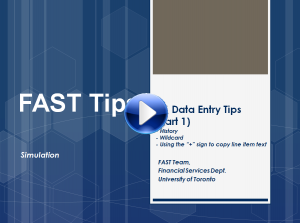 FIS Data Entry Tips 1